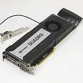 nVIDIA Quadro K6000 12GB GDDR5 PCIe 3.0 / Gen.3 1x DVI-I 2x DisplayPort