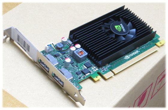 nVidia Quadro NVS 310 512MB PCIe x16 Gen2 2x DisplayPort