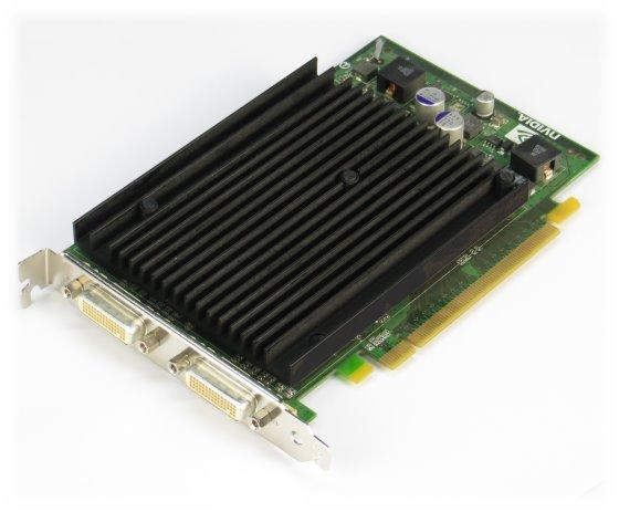 nVidia Quadro NVS 440 256MB PCIe x16 2x DMS-59 Grafikkarte silent