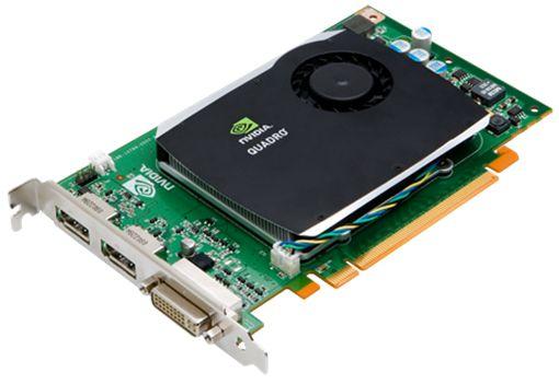 NVIDIA Quadro FX580 512MB Grafikkarte DVI, 2x Displayport