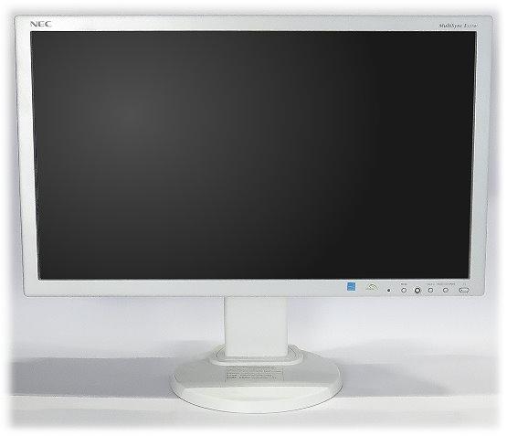 """23"""" NEC MultiSync E231W FullHD 1920x1080 VGA DVI Displayport Pivot"""