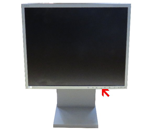"19"" TFT NEC MultiSync LCD1980FXi VGA 2x DVI Bedientasten fehlen"