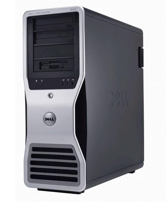 Dell Precision 690 T Xeon Quad Core E5345 @ 2,33GHz 32GB 500GB FirePro V5700 B-Ware