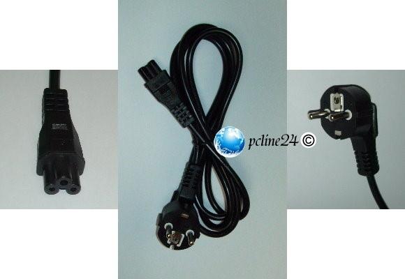 Netzkabel mit 3-Pin Stecker für Notebook Netzteile