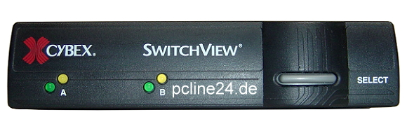 Cybex Switch View 2 Port KVM PS/2 VGA Umschalter