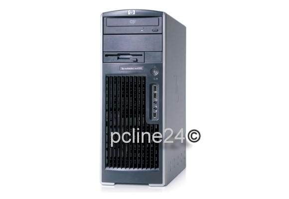 HP xw6200 2x Xeon @ 3,6GHz 4GB 160GB DVD GeForce 8400 GS Workstation